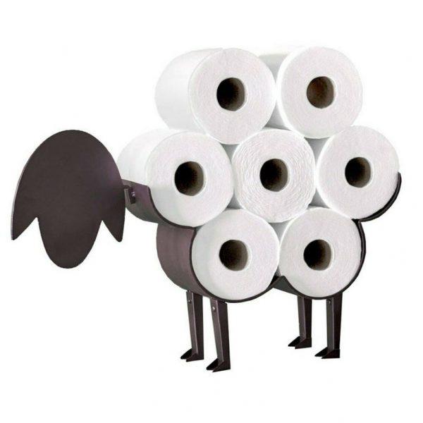 Toiletrolhouder schaap